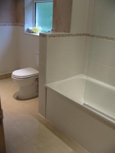 Bath/toilet view